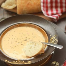 Vegan Cheddar Ale Soup Recipe