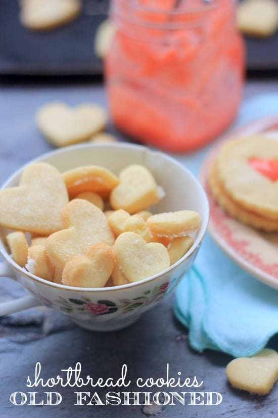 Fashioned Lemon Cookie Recipe: Strawberry Lemon Curd And Old Fashioned Shortbread Cookies