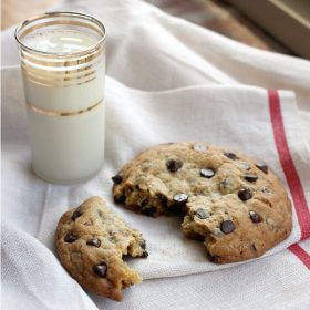 Big Ass Chocolate Chip Cookie For Two Or One