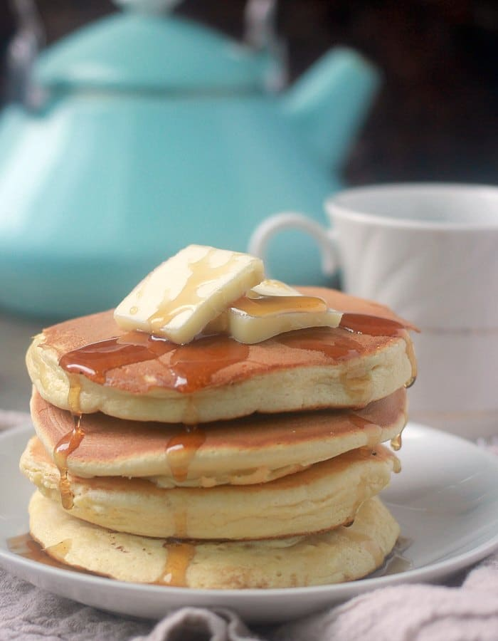 Pancakes without baking powder fluffy souffle pancakes baker bettie why because they are super light and tender and impossibly fluffy i have a feeling once you make pancakes this way you may not ccuart Choice Image