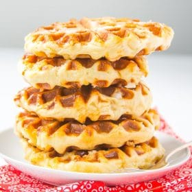 Belgian waffle recipe liege waffles baker bettie belgian liege waffles made with the sweet yeast dough master recipe and an easy and cheaper substitute for pearl sugar chewy texture yeasty flavor forumfinder Gallery