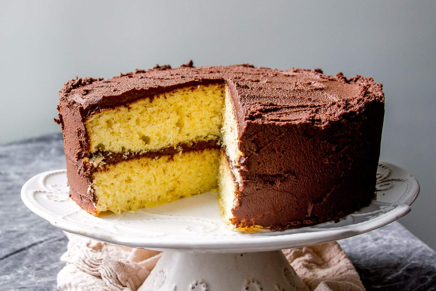 Easy Yellow Sheet Cake Recipe