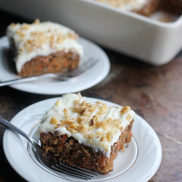 Classic Carrot Cake With Cream Cheese Frosting Baker Bettie