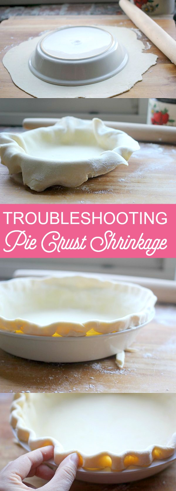 Having difficulties with pie crust shrinkage? Look no further! Follow these 6 easy tips to troubleshoot the problem and you will create the perfect crust every time!