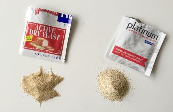 Active Dry yeast & instant yeast