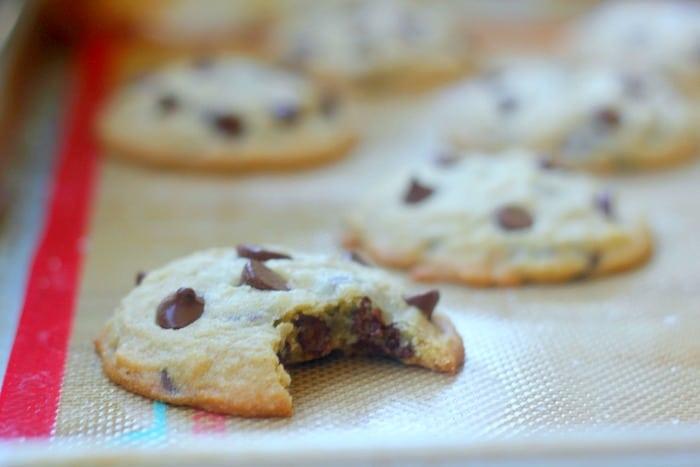 Easy Chocolate Chip Cookies With 5 Ingredients- Baker Bettie