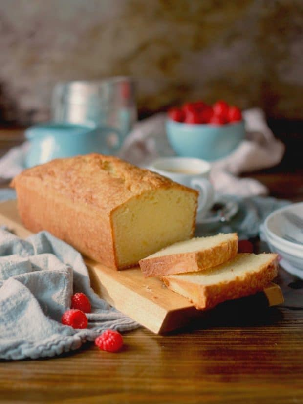 Creating the perfect pound cake requires just a little attention to detail! This classic pound cake is buttery, rich, and moist. The simple flavor of butter and vanilla is an excellent canvas to pair with fresh berries or use this as an excellent base recipe for creating endless other flavors.