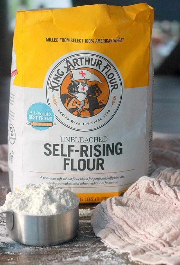 Self-Rising flour combines three of the most common baking ingredients into one. To make your own self-rising flour substitute you can use these three common pantry ingredients: all-purpose flour, baking powder, and salt!