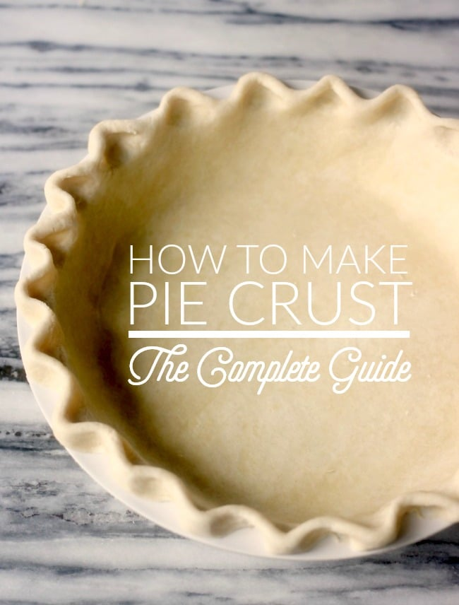 An unbaked crimped pie crust