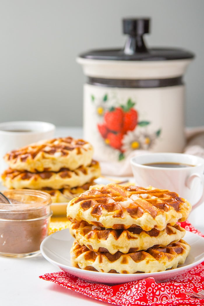 Belgian waffle recipe liege waffles baker bettie how to make liege waffles forumfinder Gallery