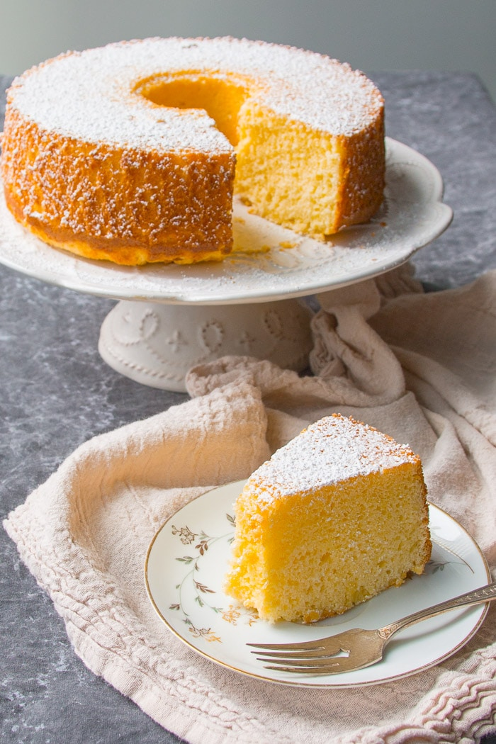 Chiffon Cake Recipe Using All Purpose Flour