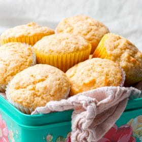 These Basic Muffins Are Delicious As Is A Side Dish Or Dessert The Batter Can Be Flavored With Extracts Spices And All Kinds Of Mix Ins