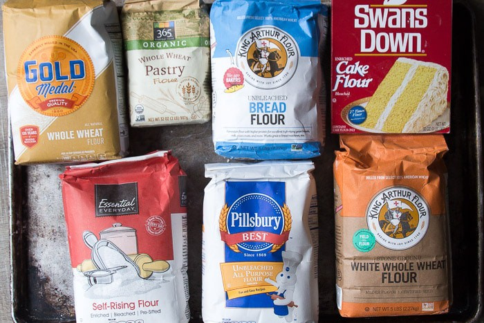 Varieties of flour