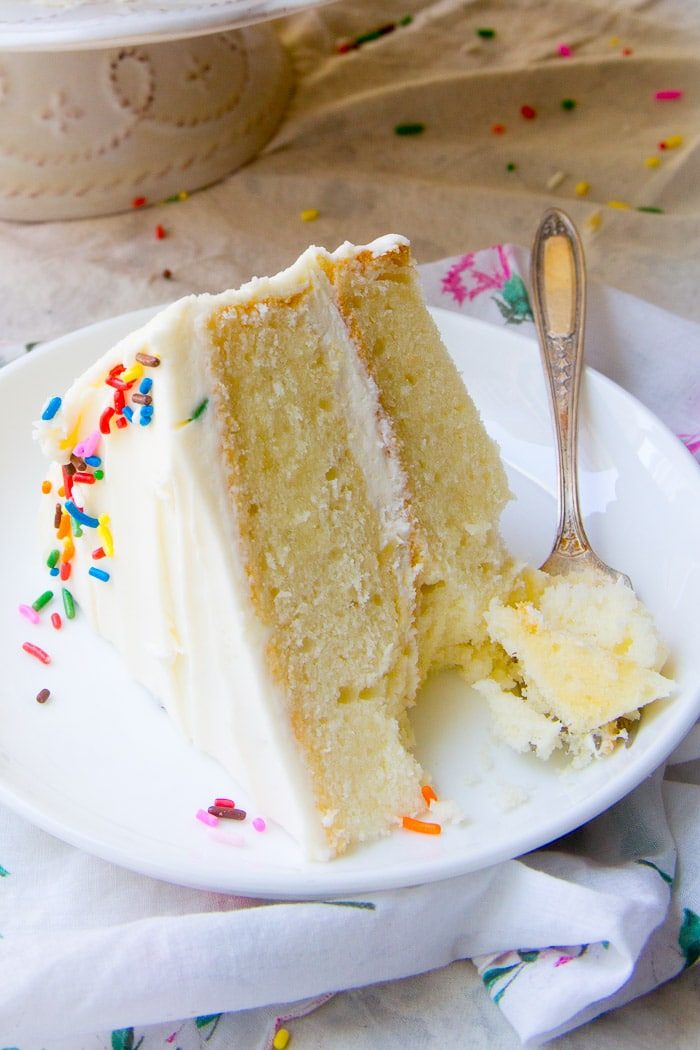Light Fluffy White Cake